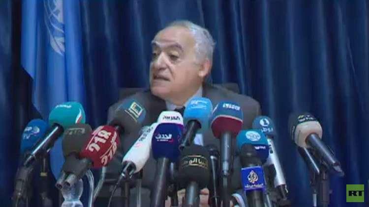 سلامة: المؤتمر الليبي في نيسان أبريل