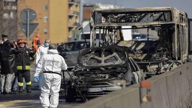 إيطاليا في ذعر بعد محاولة سائق سنغالي إحراق51 طفلا