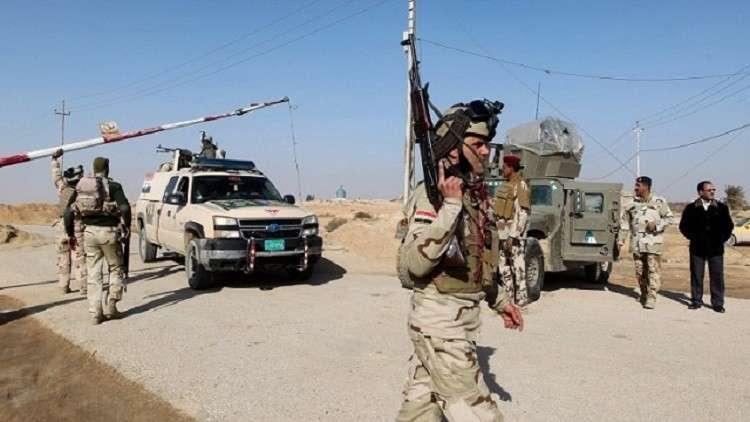 قوات الأمن العراقي في الأنبار - أرشيف