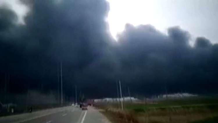 مصرع 6 أشخاص وإصابة العشرات في انفجار بمصنع كيميائي في الصين