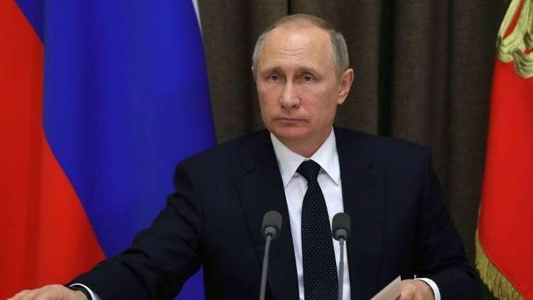 الرئيس الروسي يعزي نظيره العراقي في ضحايا حادث غرق العبارة بالموصل