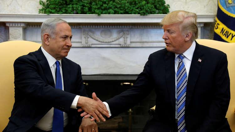 نتنياهو: ترامب يعترف بسيادة إسرائيل على الجولان وأشكره على ذلك