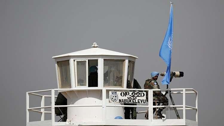 الأمم المتحدة تؤكد التزامها بعدم شرعية الاحتلال الإسرائيلي للجولان