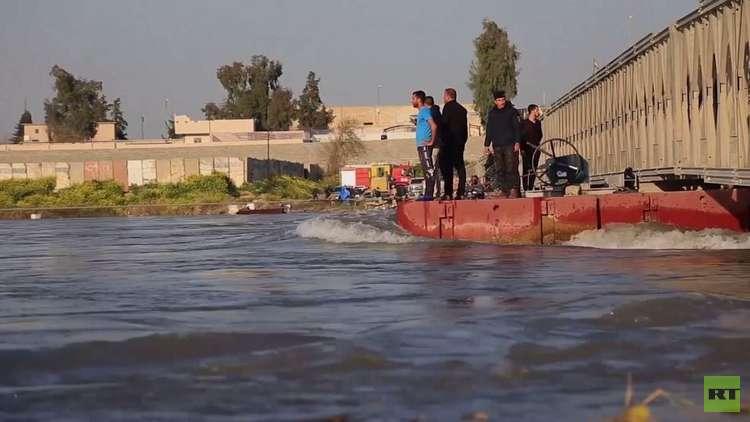 العراق.. مصرع العشرات إثر انقلاب عبارة في نهر دجلة