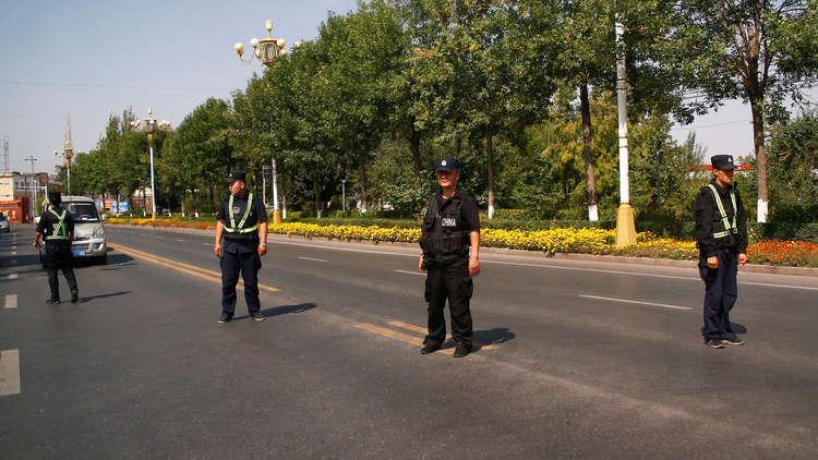 عناصر من الشرطة الصينية - أرشيف
