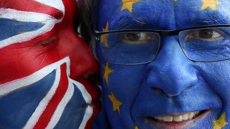 نشطاء: مليون متظاهر في لندن للمطالبة باستفتاء جديد حول