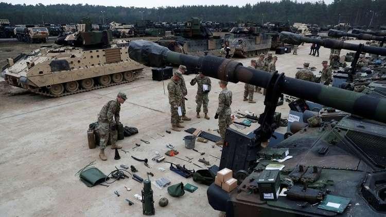 الناتو يبني مستودعات في أوروبا لتخزين أسلحة أمريكية!