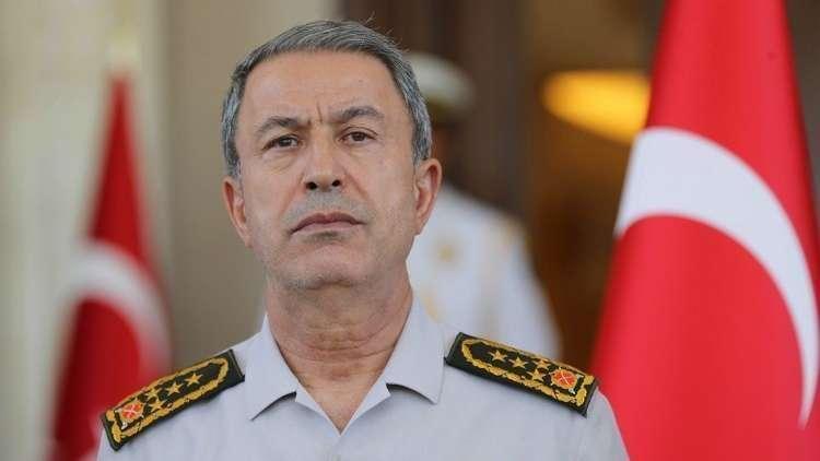 وزير الدفاع التركي: لا يمكننا القبول بوجود