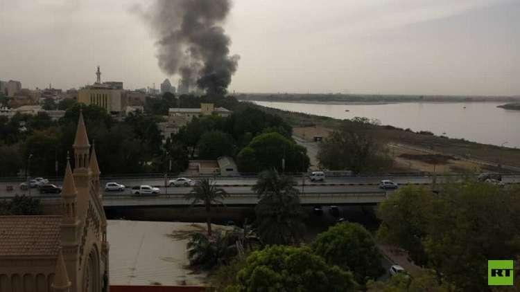 السودان.. اندلاع حريق داخل مبنى القصر الرئاسي القديم في الخرطوم (صور + فيديو)