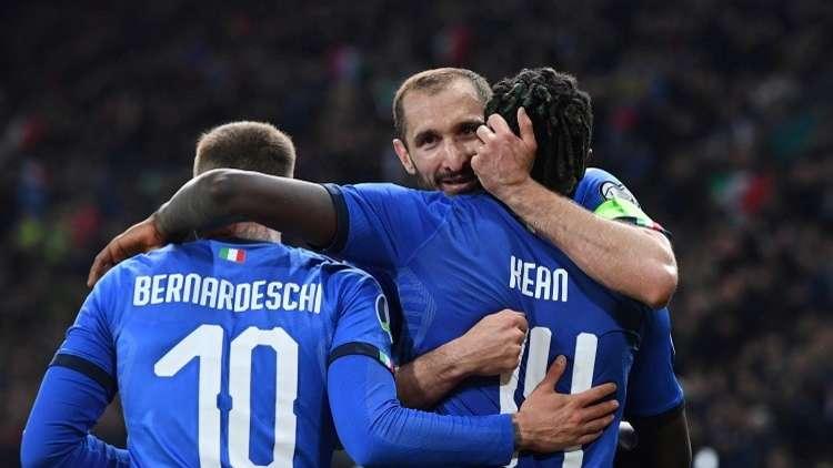 إيطاليا تنجز مهمتها أمام فنلندا