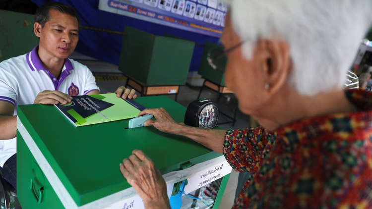 تايلاند تشهد أول انتخابات تشريعية منذ انقلاب 2014