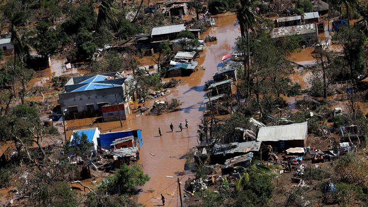 حصيلة ضحايا إعصار