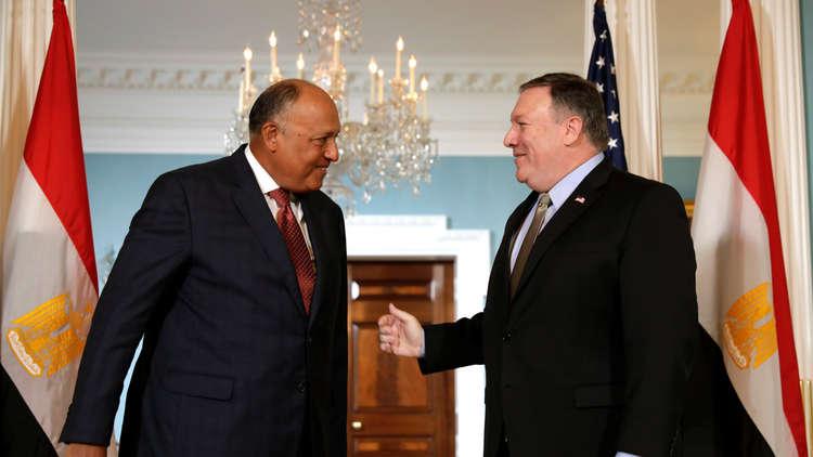 شكري إلى واشنطن لبحث الملفات الثنائية والإقليمية الساخنة مع بومبيو
