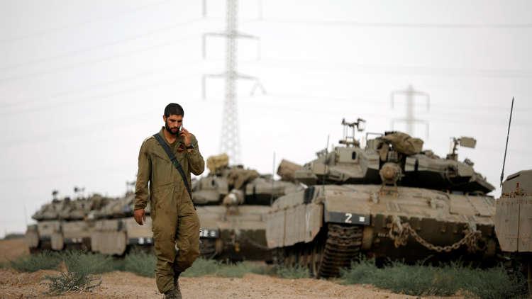 الجيش الإسرائيلي يستعد لشن هجمات على غزة