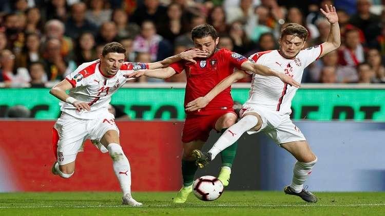 تصفيات يورو 2020.. البرتغال تتعثر مجددا وتتعادل مع صربيا