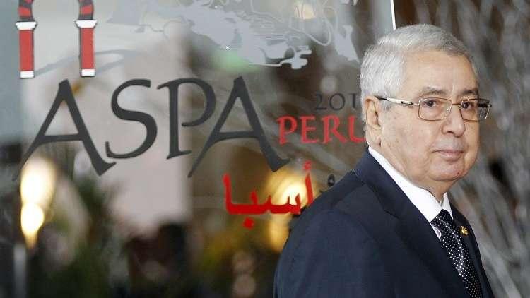 تلفزيون: رئيس مجلس الأمة الجزائري عبد القادر بن صالح سيتولى منصب القائم بأعمال الرئيس