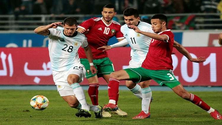 المغرب يخسر أمام الأرجنتين بهدف قاتل