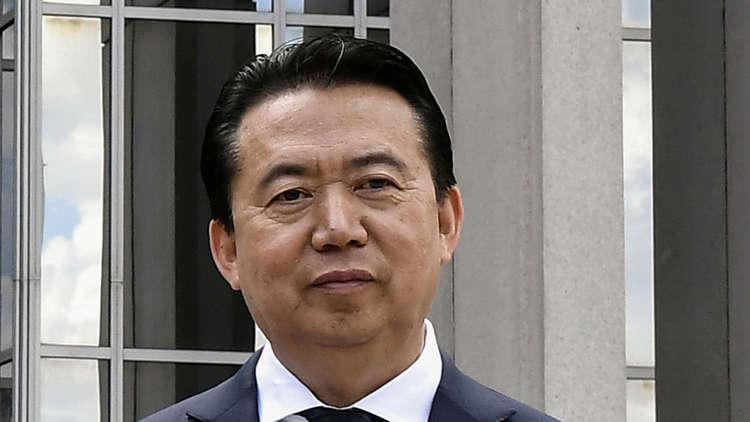 رئيس الإنتربول السابق مينغ هوانغ وي، أرشيف