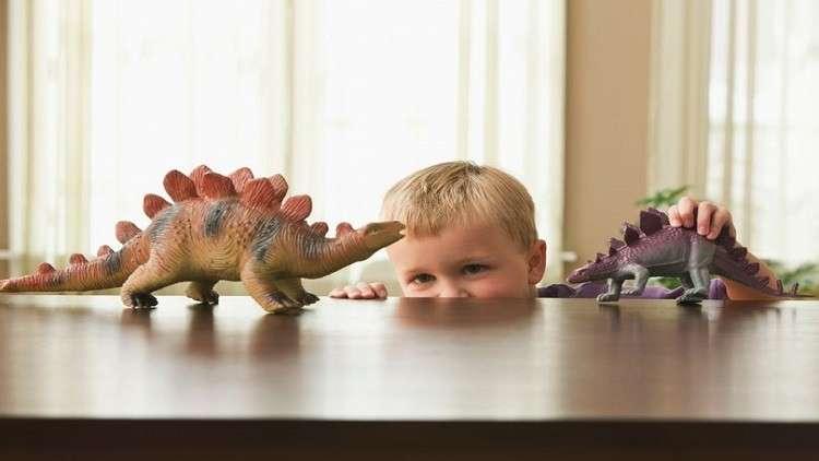 هوس الديناصورات علامة على عبقرية الأطفال!