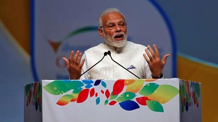 رئيس وزراء الهند ناريندرا مودي، 18 يناير 2019