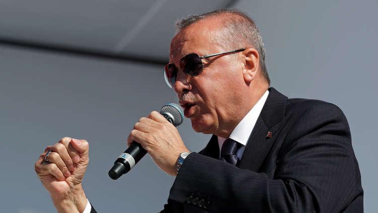 أردوغان: واشنطن تثير أزمة اقتصادية في تركيا