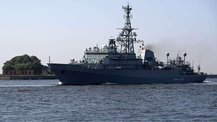سفن للناتو في البحر الأسود والسفن الروسية تراقبها