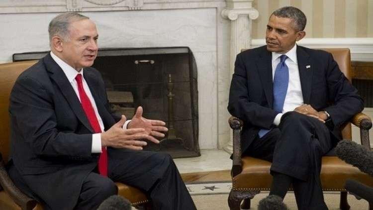 نتنياهو يستخدم أوباما في حملته الانتخابية