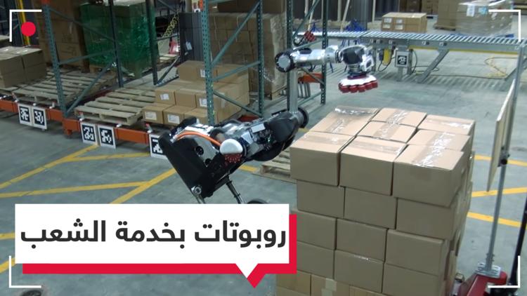 روبوتات بدلا من العمال في المستودعات بالولايات المتحدة
