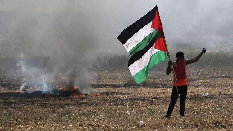 الفلسطينيون يحيون الذكرى الـ43 لـ