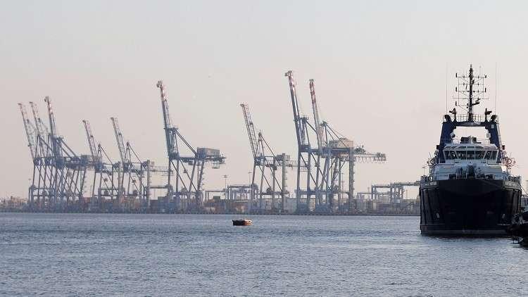 ميناء بور سعيد في مصر - ارشيف -