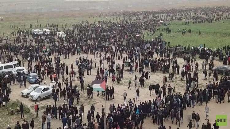 3 قتلى في غزة بسنوية العودة ويوم الأرض