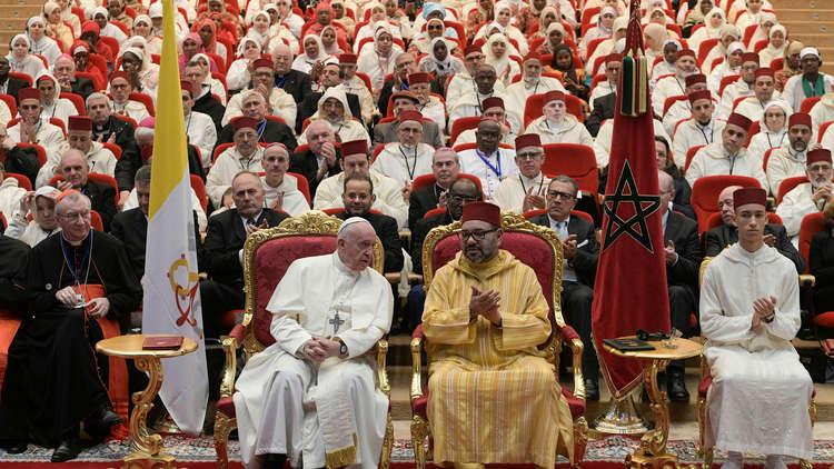 البابا والعاهل المغربي: القدس مكان لتعايش كل الديانات