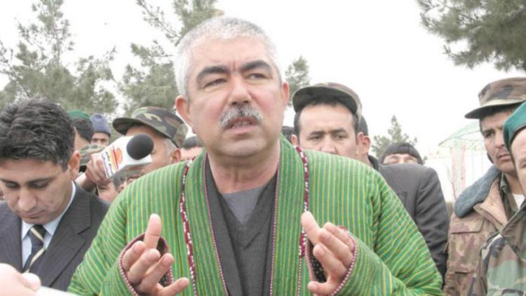 نائب الرئيس الأفغاني عبد الرشيد دوستم