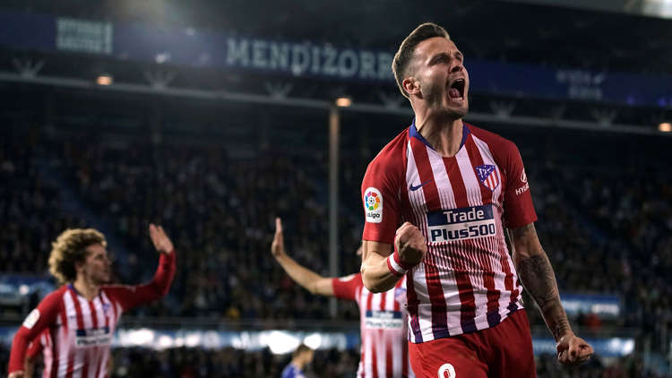 Atletico Madrid violently with four goals to Alaves