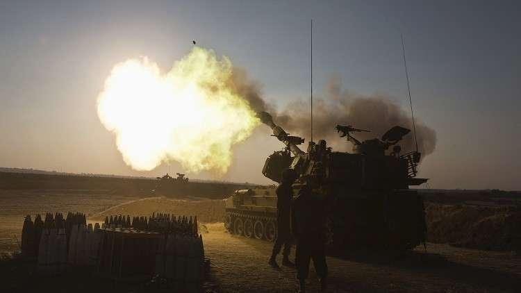 إسرائيل تقصف مواقع لحماس ردا على صواريخ من غزة