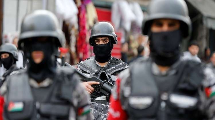 قوات الأمن الأردني - أرشيف