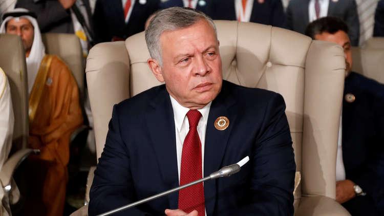 العاهل الأردني الملك عبدالله الثاني في تونس