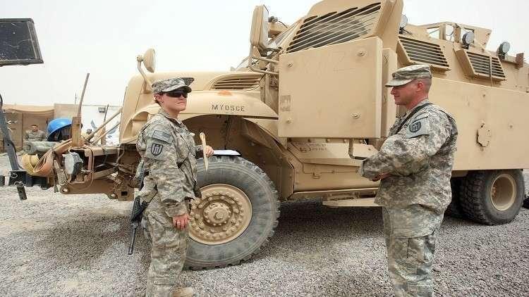 جنود من الجيش الأمريكي في العراق (صورة أرشيفية)