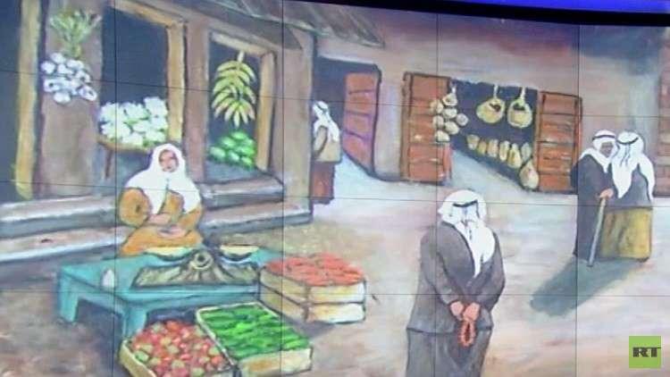 معرض فني فلسطيني في المتحف الروسي بأريحا