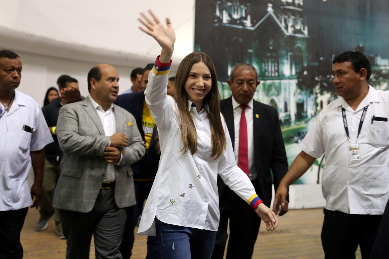 زوجة غوايدو لمادورو: يكفي بالفعل!