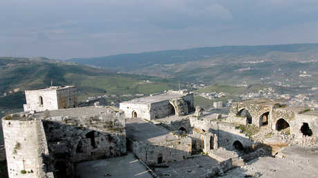 قلعة الحصن السورية تستقبل 2500 سائح في 4 أشهر