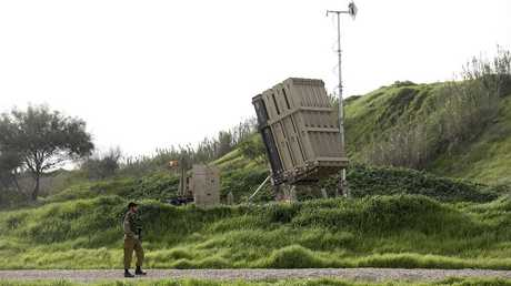منظومة القبة الحديدية الإسرائيلية (صورة من الأرشيف)