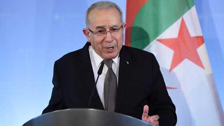 نائب رئيس الوزراء الجزائري الجديد، رمطان لعمامرة