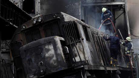 وفاة طفلة أبكت الملايين في حادث محطة مصر الكارثي