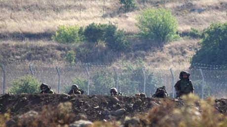 جنود إسرائيلييون في الجولان السوري المحتل (صورة أرشيفية)