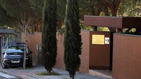 مقر سفارة كوريا الشمالية في مدريد