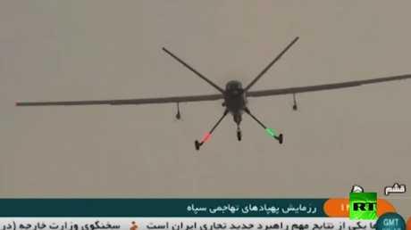 إيران تطلق أضخم مناورات لطائرات الدرون القتالية في الخليج