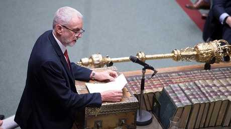 زعيم حزب العمال المعارض البريطاني جيريمي كوربين