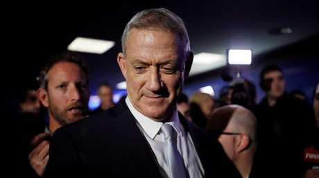 """زعيم تحالف """"الأزرق والأبيض""""، رئيس الأركان الإسرائيلي الأسبق بيني غانتس"""
