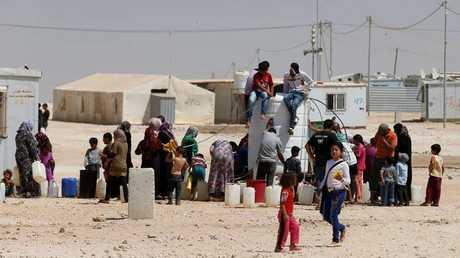 بيان روسي سوري حول مخيم